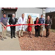 Fort Scott Ortho Clinic Ribbon cutting