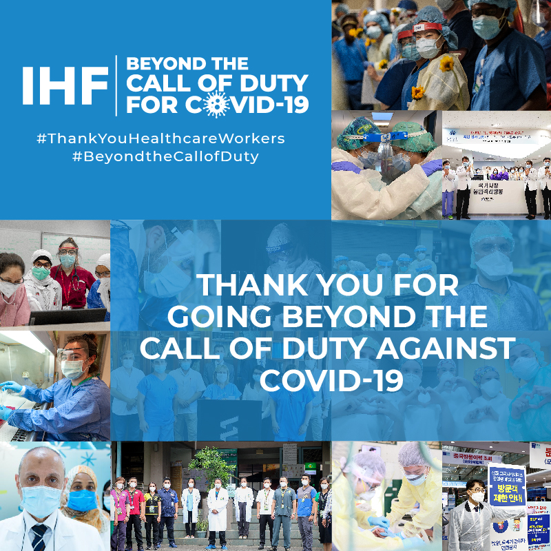 IHF Beyond the Call of Duty for COVID-19