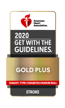 American Heart Association Gold Plus Stroke Care 2020