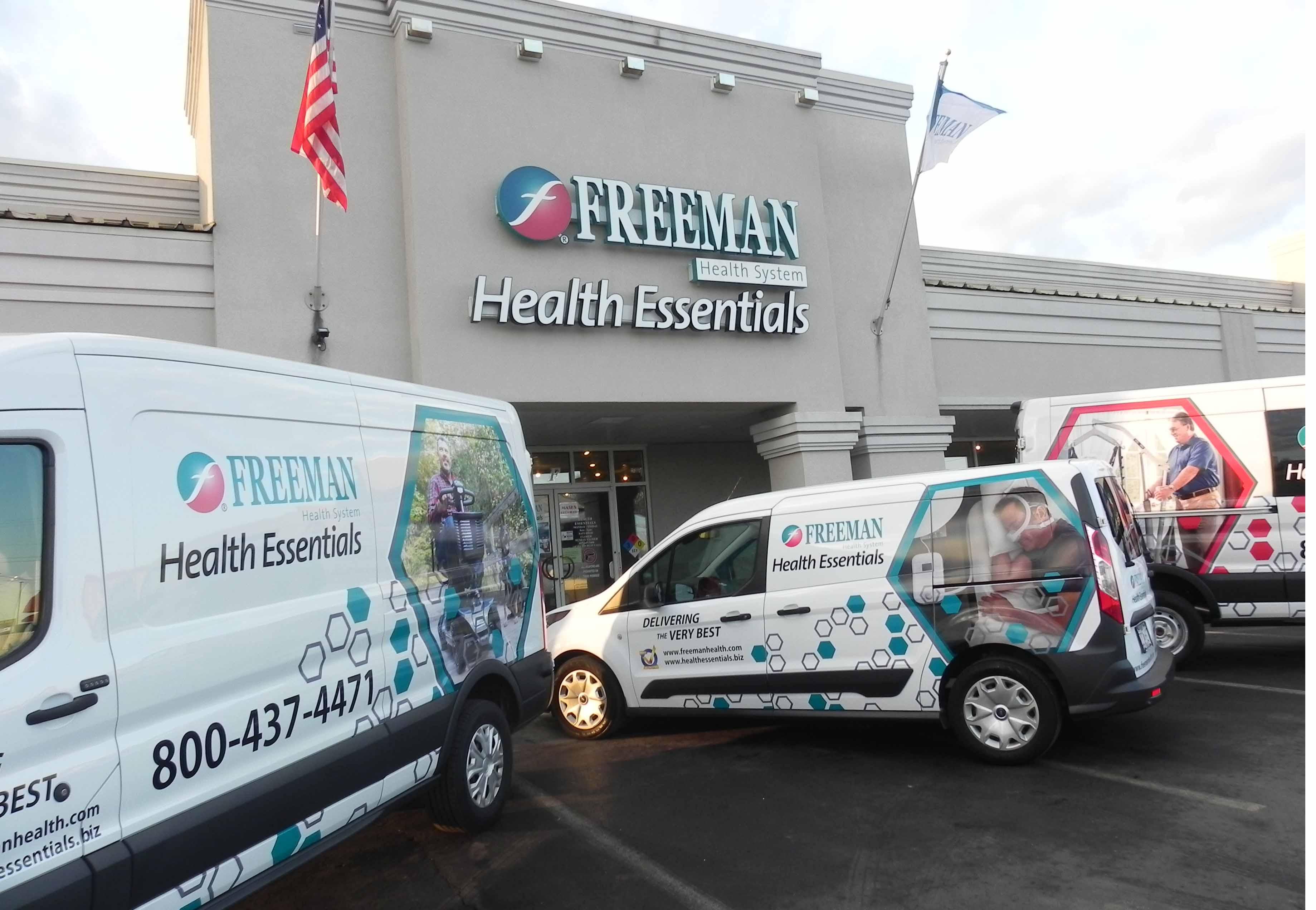 Health Essentials with vans