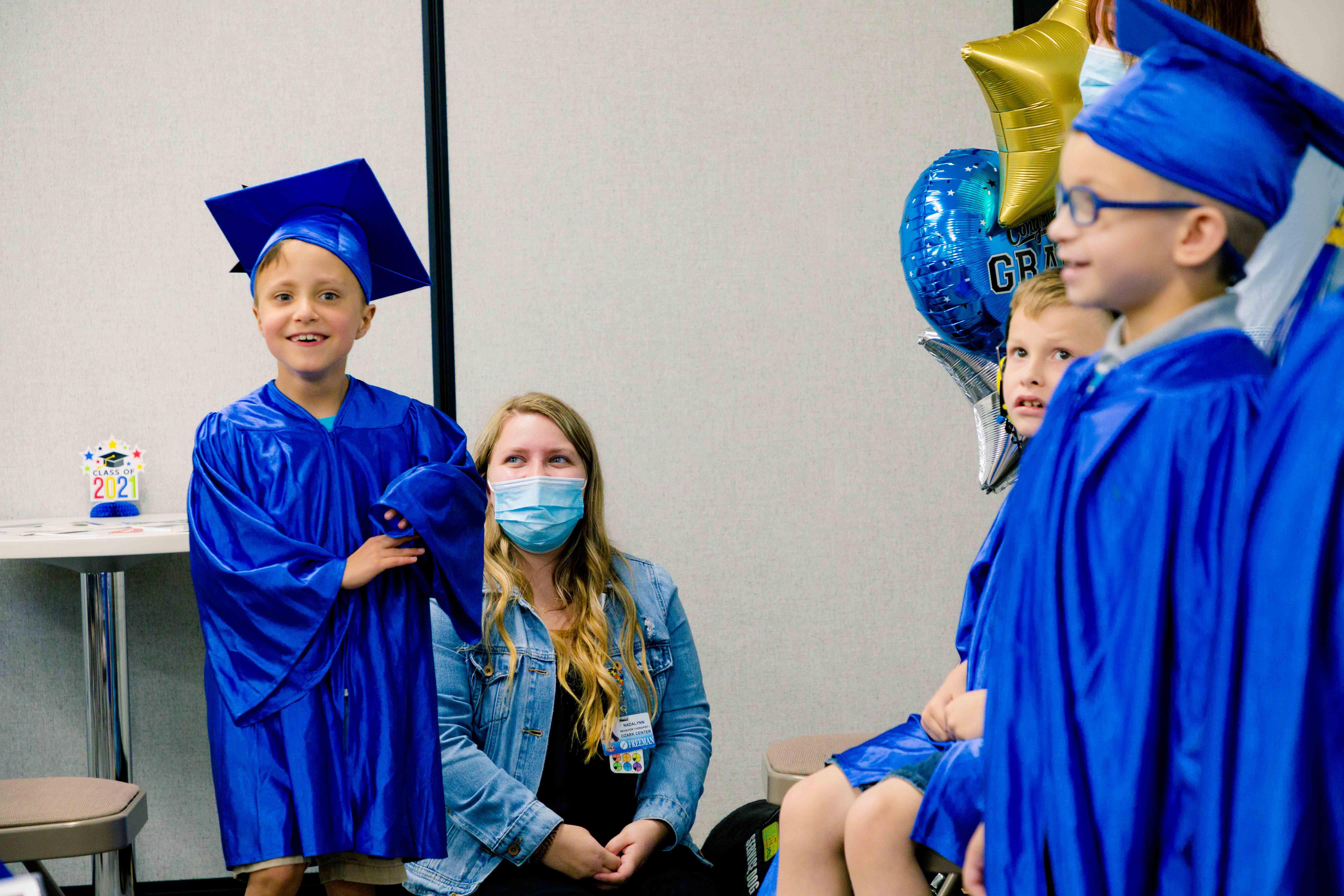 Leffen Center for Autism Graduation 2021